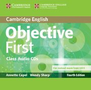 Objective First Class Audio 2CD, Capel Annette, Sharp Wendy