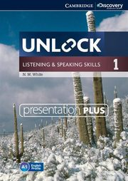 Unlock 1 Listening and Speaking Skills Presentation plus DVD, White N. M.