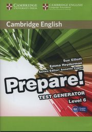 Cambridge English Prepare Test Generator Level 6,