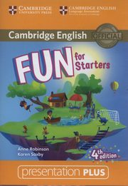Fun for Starters Presentation Plus DVD, Robinson Anne, Saxby Karen