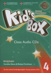 Kids Box 4 Audio CDs,