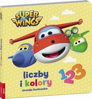 Super Wings Liczby i kolory,